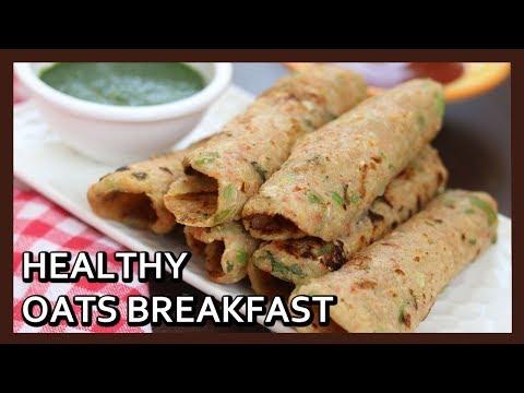 Healthy Oats Breakfast | Oats Recipe for Weight Loss | Oats Pancakes Recipe | Healthy Kadai