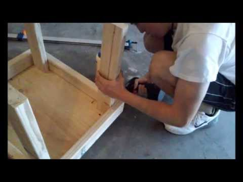 Stand for table saw Under $20