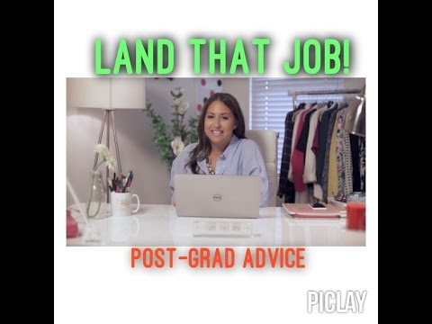 How to Land a Job After College!