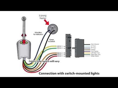 Universal Bolt On Turn Signal Switch Wiring