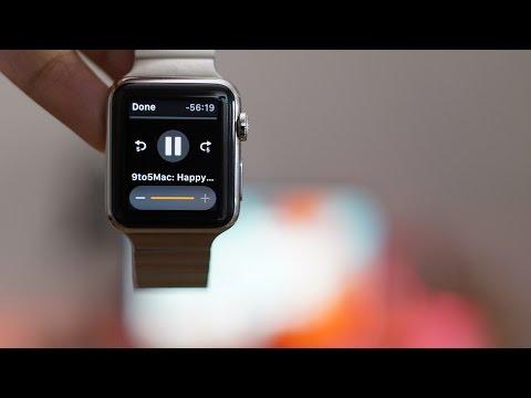 WatchPlayer: Play podcast episodes offline via the Apple Watch speaker