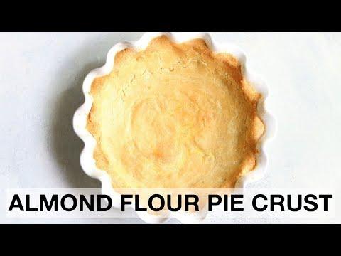 RECIPE// Almond Flour Pie Crust (low carb + gluten free + paleo)