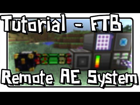 [Tutorial] Remote AE System using Logistics Pipes + Ender Chests (FTB)