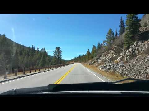 A mountain drive from Frisco, Co to Copper Mtn to the top of Cllimax Pass. 10/9/2015