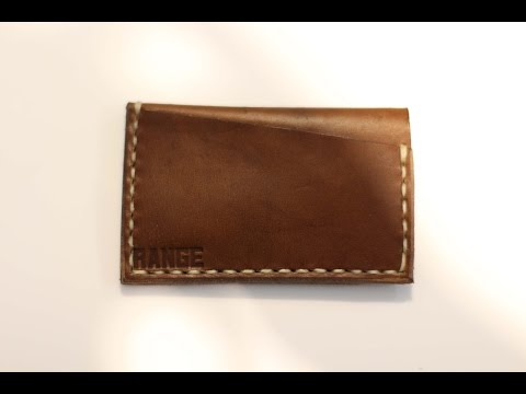 RANGE - Minimalist Leather Wallet