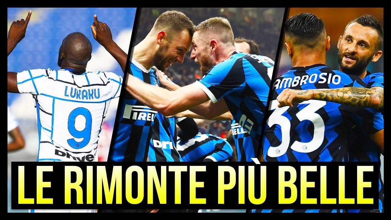 Le 5 Rimonte più Belle dell'Inter nel 2020