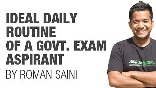 (2/2) Ideal Daily Routine of a government exam aspirant/student (UPSC CSE/IAS preparation)