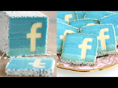 Facebook Cookies Slice & Bake!