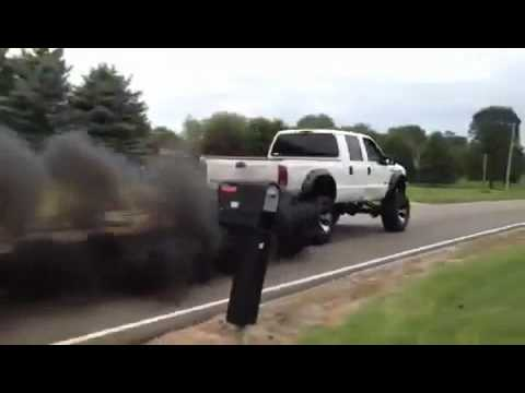 Ford f250 black smoke