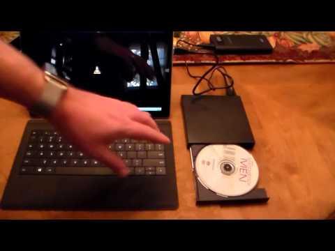 ZhiZhu Portable DVD & CD Rewriteable Drive for Mac & PC
