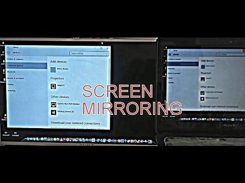 How to connect your laptop Screen to any smart TV using (screen mirroring) No HDMI needed!