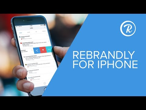 URL Shortener for iOS Mobile: Rebrandly for iPhone