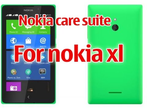 Nokia care suite for nokia xl supported