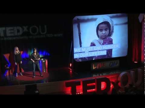 Ending World Hunger, One Grilled Cheese at a Time: Kristin Walter & Talis Apud-Hendricks at TEDxOU