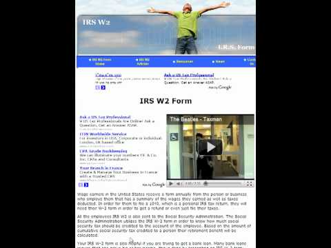 IRS W2 | W2 Form