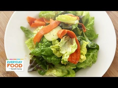 Ultimate Salad Mix with Balsamic Vinaigrette - Everyday Food with Sarah Carey