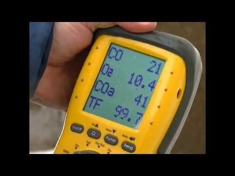 Furnace Carbon Monoxide Output