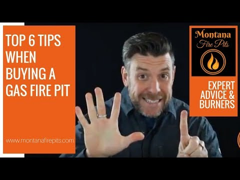 The Top 6 Tips when Buying a Gas Fire Pit