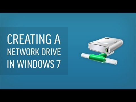 How To Make A Network Drive In Windows 7