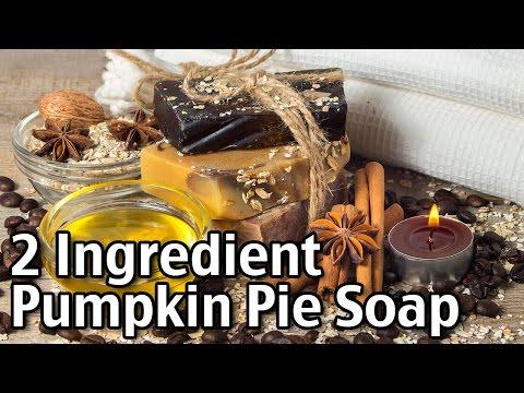 2 Ingredient Pumpkin Pie Soap