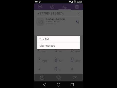How to make free calls to Nepal using Viber