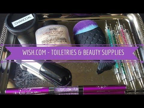 Wish.com - Toiletries & Beauty Supplies