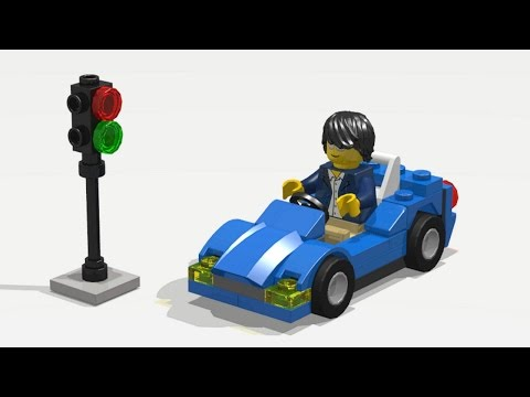 LEGO City 30349 Sports Car. Speed build / Instruction