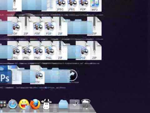 Folder View - Fan, Grid, List