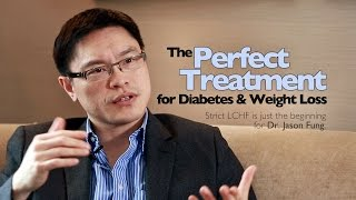 What is the perfect treatment that can cure type 2 diabetes (!) and lead to effortless weight loss? Listen to the eloquent Dr. Jason Fung describe it in this 12-minute part of a longer interview.  *** Observe: This treatment is extremely effective. If you have diabetes and take blood sugar lowering medication (especially insulin injections) you may need to reduce the doses a lot to avoid potentially dangerous hypoglycemia. You may instantly become too healthy for your medication. ***  In the full 45 minute interview Dr. Fung goes into more detail about exactly how to add fasting to your low-carb diet, important things to consider and how to avoid potential problems.  Watch the full interview and many more similar videos: http://www.dietdoctor.com/interviews To see everything requires signing up for a free trial membership, but there are many shorter videos (similar to this one) available without even signing up for a free trial.  Revolutionize your health: http://www.dietdoctor.com