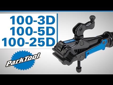 Park Tool Professional Micro-Adjust Clamp - 100-3D, 100-5D, 100-25D