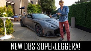 Speccing my new Aston Martin DBS Superleggera!