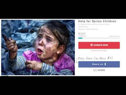 Proof of Donations sent to Syria