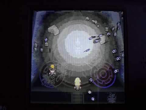 Getting Dialga using Arceus on Pokemon Soul Silver