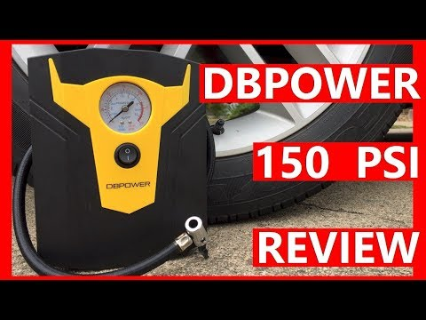 DBPOWER 12V DC Portable Electric Auto Air Compressor Pump Amazon Review - Tips For Safe Driving