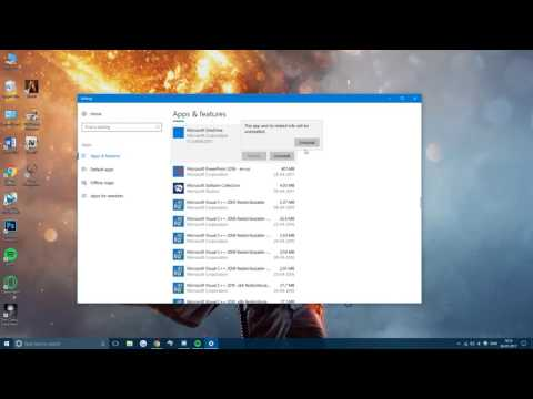 How To: Completely Remove Microsoft OneDrive (Windows 10)