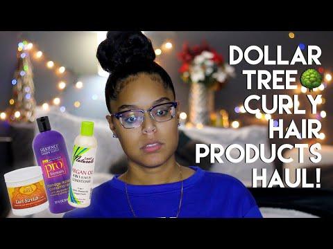 DOLLAR TREE CURLY HAIR PRODUCTS HAUL | Danielle Renée