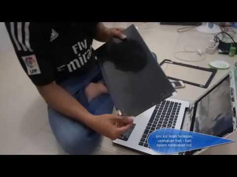 Mengganti LCD laptop  Asus X453M