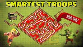 Clash Of Clans Maze Base Tournament | Who