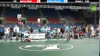 152 Andrew Webb vs. Kristian Mendez