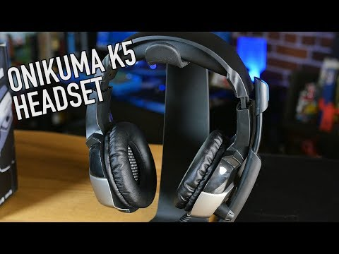 The Toughest Low-Cost Gaming Headset? | Onikuma K5 (PC, PS4, Xbox, Mobile, Etc.)