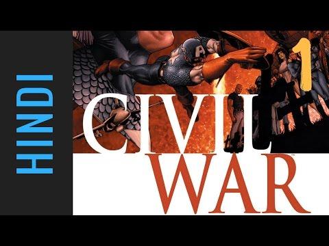 Marvel CIVIL WAR | Episode 01 | Marvel Comics in Hindi