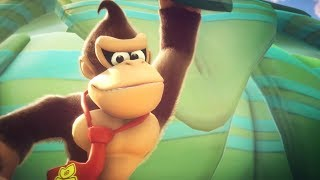 Mario + Rabbids Kingdom Battle Donkey Kong DLC Trailer Nintendo Direct 2018