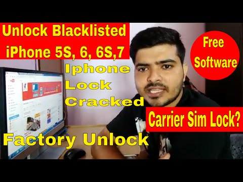 How to unlock blacklisted iPhone 5, 6 & 7 - Unlock Iphone Carrier Sim lock