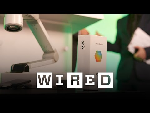 Dror Sharon: This Tiny Molecular Sensor can Identify a Viagra Pill | WIRED 2015 | WIRED