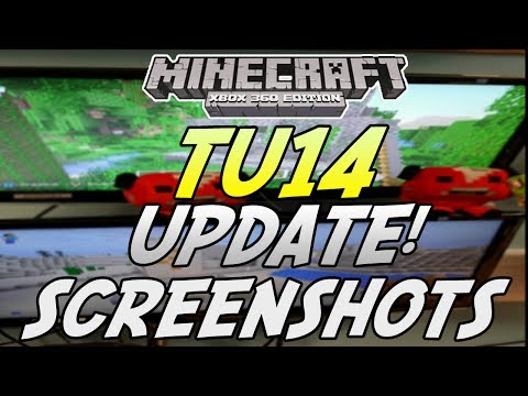 Minecraft (Xbox 360/Xbox One) - TU14 Update! - SCREENSHOTS - ANVILS,EMERALDS & MORE!