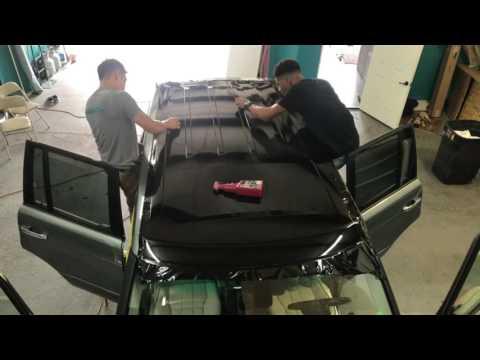 Range Rover Roof Wrap