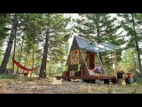 A-Frame Cabin That Cost Just $700 to Build