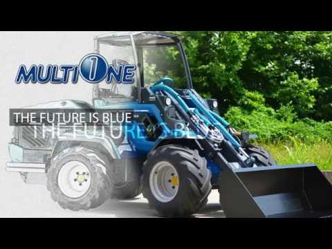 The MultiOne Articulated Mini Loader
