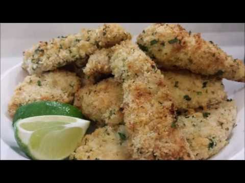 CRISPY CHICKEN TENDERS AIR FRYER