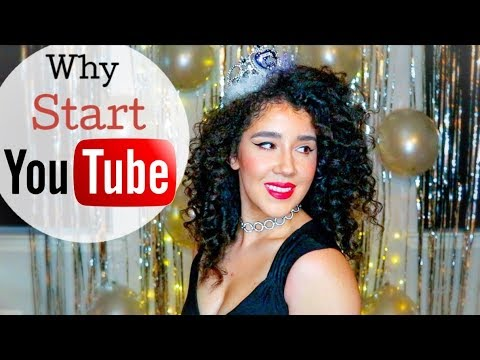 Why I Started YouTube : 5 Reasons   One Year On YouTube    Fashion , Makeup , Hair Love